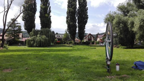 Dunakanyar-kerékpárút Nagymaros pihenő
