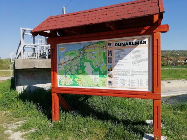 Által-ér völgyi kerékpárút - Dunaalmás