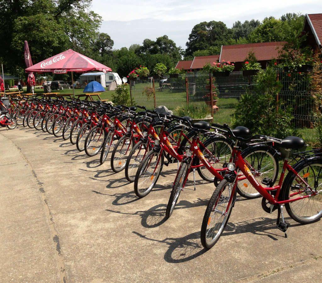 Kölcsönözhető kerékpárok a Tisza-tónál