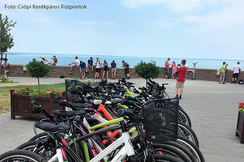 kerékpárkölcsönzés Balaton Csöpi kerékpáros központ
